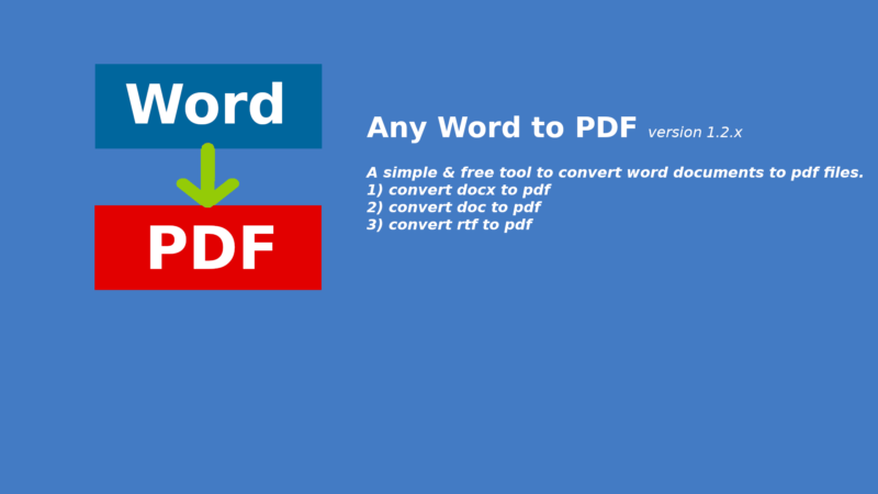 Word to PDF Converter Online